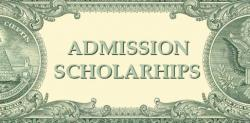 Admission Scholarships