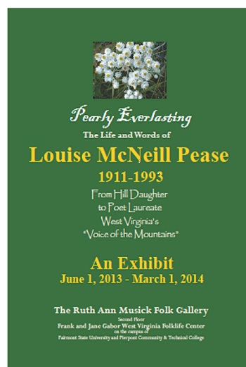 Exhibit: Louise McNeill Pease