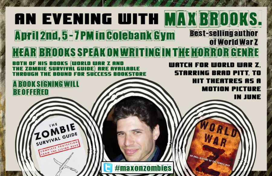 An Evening With Max Brooks