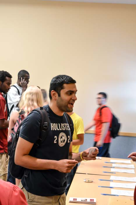 Fall 2013 International Students Welcome Reception