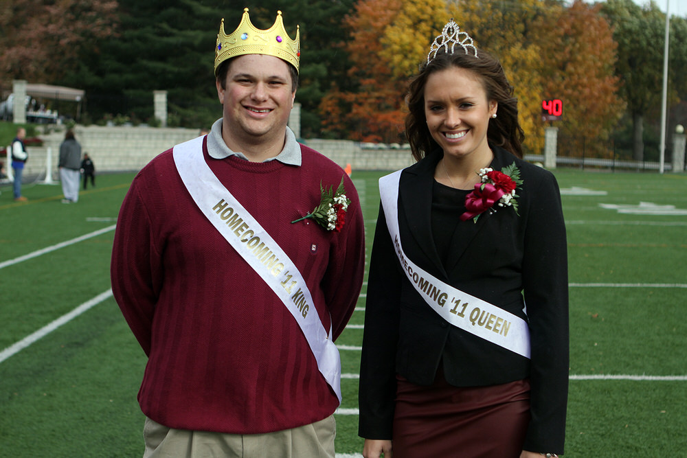 2011 Homecoming King and Queen