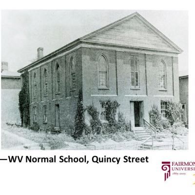 1865 - WV Normal School, Quincy Street
