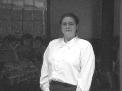 Student, Mistie Manning, portraying Ethel Ferrell