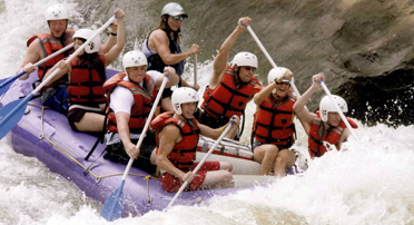 Wilderness Explorer white water rafting on the New River.